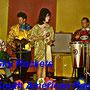 THE SKYROCKETS (1961) vlnr: Cor Schouten, Daan Schouten, Wieneke den Hartog, Frans Huismans (fotocollectie: Wendy den Hartog)