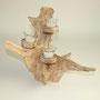 Wildholzkerze 1,inkl.Teelichtglas-ohne Kerze,43cm x 25cmx 33cm, Euro 24,00