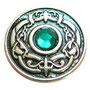 Zierniete dragoneye  in grün 30x30 4,30  Euro