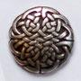 Zierniete keltischer Knoten groß  25mm, ab 25 mm Breite  4,40 Euro je Stück