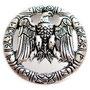 Zierniete Adler: für Halsbänder ab 40mm 40 x40 mm 4,30  Euro je stück alsilber