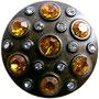 Zierniete starshield orange groß 35x35 4,30 Euro und klein 25x25 4,10 Euro je Stück