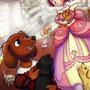 """犬の王子(11月)""""6時間 Photoshop"""""""