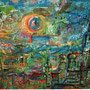 Das Tor zum Süden, 2005 | Öl-Acryl auf Karton | 100 x 130 cm