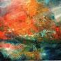 Landschaft Menorca 1, 2006 | Öl-Acryl auf Leinwand | 100 x 120 cm