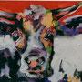 Kuh 2, 2009 | Öl-Acryl auf Leinwand | 60 x 80 cm