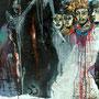 Grausame Neugierde der Solomonen, 2006 | Öl-Acryl auf Leinwand | 150 x 120 cm