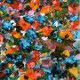 Blumen 2, 2003 | Öl-Acryl auf Leinwand | 72 x 50 cm