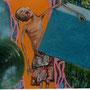 Der Wasserträger, 2006 | Öl-Acryl auf Leinwand | 150 x 150 cm