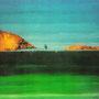Die Stille, 2000 | Öl-Acryl auf Karton | 80 x 110 cm