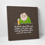 """Leinwanddruck """"Jubiläum – 25 Jahre regelmäßiges Biertrinken"""""""