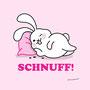 """Leinwanddruck """"Schnuff!"""""""
