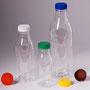 PET-Flaschen 0,25, 0,50 & 1,00 l mit 38 mm Füllöffnung (0,5 & 1,0 l nicht im Standartprogramm, nur auf Vorbestellung lieferbar!)