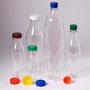 PET-Flaschen gesamt mit Verschlüssen