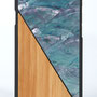 Iphone 7 Hülle Aqua Bambus Blau