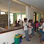 der Flurbereich des Krankenhauses bei unserer 1.Mission in 2012