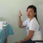 Daisy, philippinische Krankenschwester und Übersetzerin