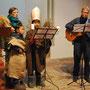 Kalle Hörning stimmte danach das Martinslied in der gut besuchten Kirche an.