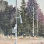 Baum Nr.3, 2014, Acrylic on canvas, 90cm x 50cm