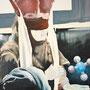 Our Lady Discordia, 2014, Acrylic on canvas, 60cm x 50cm
