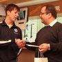 Sportfahrer Manuel Fahnauer und Sportleiter Werner Rotter
