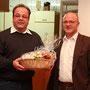 Werner Rotter und Peter Altrichter. Der MSC-Ipf dankt Werner Rotter für 8 Jahre erfolgreiches Wirken als Sportleiter.