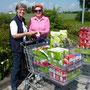 Martina Bötig mit Birgit Korfmann, Foto: Dagmar Oetken