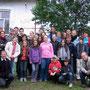 gemeinsames Foto mit der Jugend von Toplita