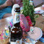 überschäumende Freude auch beim Bier