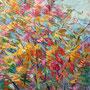 La danza delle foglie - olio su tela 50 x 40
