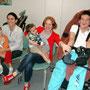 Gabriel, Caroline, Nathan, Amber et Cédric