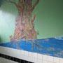 お風呂に縄文杉があります