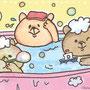 テレビ朝日webサイトアナウンサーズ朗読動画「三匹の小熊さん」挿絵