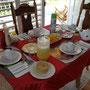 Frühstück in unserer Casa in Vinales