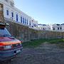 An der Stadtmauer von Assilah
