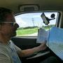 Der Herr Navigator auf der Reise :-)