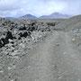 Felsschlucht, 1km einspurig