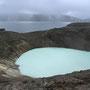 kleiner Krater Askja und dahinter der große Kratersee