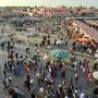 Marrakesch Platz der Gaukler