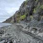 Steinig entlang dem Meer - Piste 622