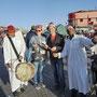 Marrakesch mit Gauklern