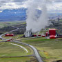 Geothermiekraftwerk am Krafla