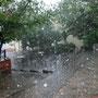 Ein Regenschauer