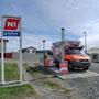 nicht die kleinste Tankstelle die ich gesehen habe