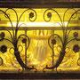 Der Glasschrein mit den Gebeinen Irmengards in der Irmengardkapelle