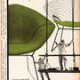 Knoll International / designed by Harry Bertoia / 1950s