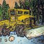 The Little Plow Yosemite 16x20