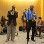 Carl Bartlett, Jr. Quartet at Queens Botanical Garden (October 26, 2014) Photo Credit: Mayumi Kasai