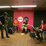 Yaz Band at Grand Central Station (September 11, 2014) Photo Credit: Mayumi Kasai