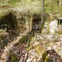 Die Eingänge des Bunkers
